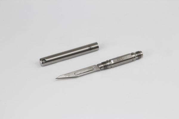 M-Stick - Der Scharfe | Mit verschraubbarer Schutzhülse | aus Edelstahl gefertigt