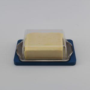 Allgäuer Geschenke - Butterkühler aus Aluminium eloxiert blau für fast alle Butterdosen